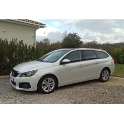 PEUGEOT 308 II (2) SW Allure Business 1.6 HDi 120CH S&S Basse Consommation Blanc Nacré